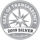 logo for guidestar 2019 silver seal of transparency