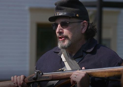 re-enactor from the 10th pennsylvania