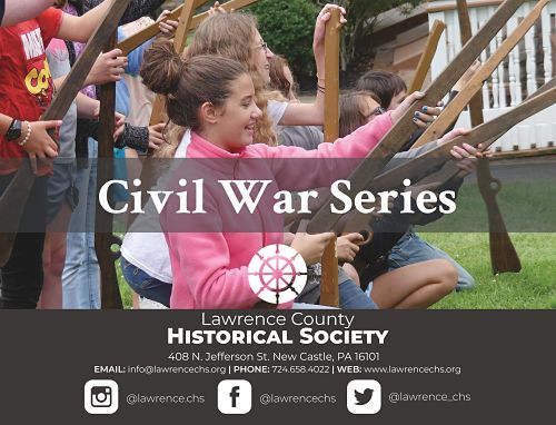 photo of post card announcing civil war series