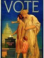 photo of vote poster